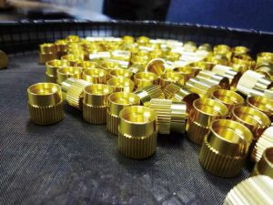 Brass screw stress relieving